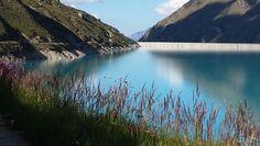 Dam and Lake Moiry, Valais, Switzerland