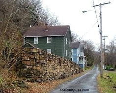 NOT abandoned... the seven people who still live in THURMOND, WV live in these houses.