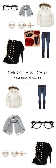 """""""Winter Chic on a mission to stay warm in a trendy puffer jacket"""" by sultank on Polyvore featuring Tommy Hilfiger, DL1961 Premium Denim and Vero Moda"""