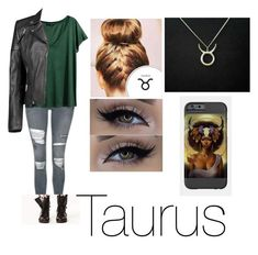 """Taurus Casual Wear"" by hmarbut ❤ liked on Polyvore featuring Topshop, H&M, Boohoo and Taurus"
