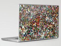 Sequin laptop skin
