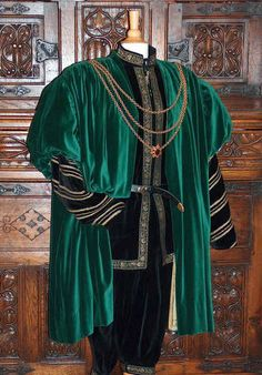 Costume of a nobleman of the German Renaissance - 1545