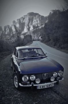 """Driving through the Italian mountains listening to the Matt Monroe track """"On Days Like These """"""""...Bliss !"""