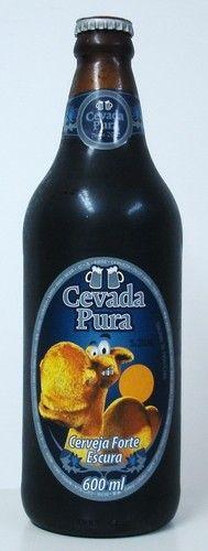 Cerveja Cevada Pura Escura, estilo Dark American Lager, produzida por Cevada…