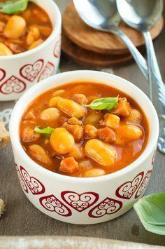 Szybka fasolka po bretońsku Soup Recipes, Diet Recipes, Cooking Recipes, Healthy Recipes, High Carb Diet, Polish Recipes, Tasty Dishes, Soups And Stews, I Foods