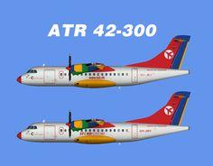 Danish Air Transport ATR 42-300 Fleet Update 2016 FS9