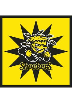 Wichita State (WSU) Shockers Party Napkins http://www.rallyhouse.com/wichita-state-shockers-16-pack-luncheon-napkins-1569070?utm_source=pinterest&utm_medium=social&utm_campaign=Pinterest-WSUShockers $3.99