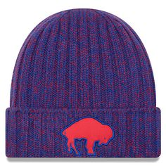 90018aa70e4 Women s Buffalo Bills New Era Royal 2018 NFL Sideline Cold Weather Historic  Knit Hat