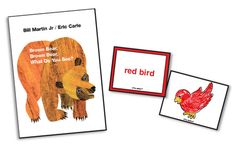 Teaching ideas for Brown Bear, Brown Bear that includes reproducible word and…