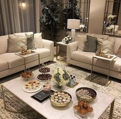Living Room Decor Curtains, Living Room Sofa Design, Glam Living Room, Home Room Design, Home Curtains, Elegant Living Room, Home Design Decor, Beautiful Living Rooms, Home Decor Styles