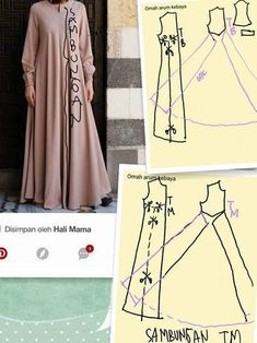 super ideas for sewing clothes women gowns dress patterns Sewing Clothes Women, Sewing Pants, Dress Clothes For Women, Diy Clothes, Sewing Dresses For Women, Dress Sewing Patterns, Clothing Patterns, Abaya Pattern, Costura Fashion