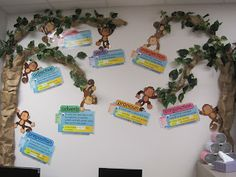 Don't Monkey Around with Grammar Bulletin Board