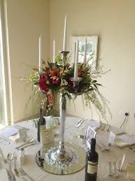 candelabra with flowers - Google Search