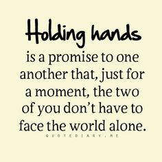 Why was I just thinking of you? Will you promise me that you will always hold my hand? I'll need that. I'm actually a very affectionate partner. I need human contact when I'm in love. :)
