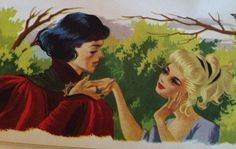 """""""At last I have found my princess!"""" Illus. by Catherine Barnes."""