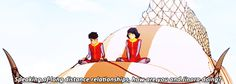 PTERODACTYL SCREECH | Kainora | Book 4: Balance | Legend of Korra | Avatar | (gif)