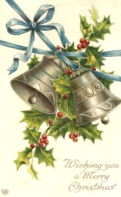 Christmas Bells! You so rarely see bells used in Christmas decoration anymore.. .