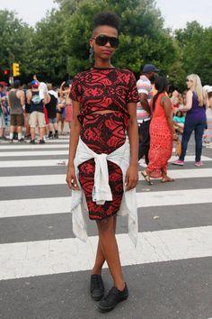 Music festival street style: Made in America, Philadelphia