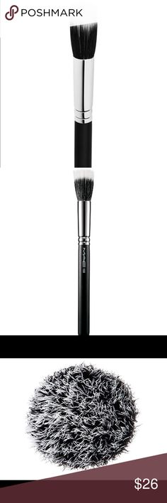 Brand New MAC 188 Brush Brand new MAC 188 Brush.  Excellent for contouring and blending.  PRICE IS FIRM! MAC Cosmetics Makeup Brushes & Tools