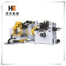 Hong-Er Machine Decoiler + Straightener + Feeder Contact:caroline@he-machine.com  #precisionmetalproducts #sheetmetalproducts #sheetmetalworkers #sheetmetal #precisionstamping