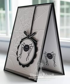 by Tawnya Bonnell, From My Pad to Yours: Halloween Spider Dropping In
