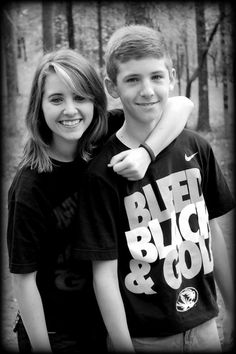 Brother & Sister Angie Everson Photography