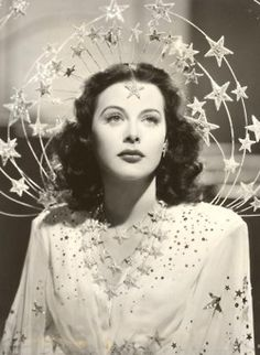 Hedy Lamarr - beautiful and scientifically brilliant, though she was rarely recognized by the latter.