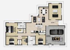 Golden Homes Plan: Evo | New Zealand floor plans | Pinterest | Evo ...