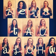 Cute photo idea from Psi Chapter's (University of Washington) EC!
