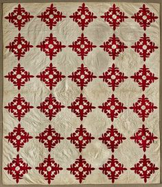 In the Swan's Shadow: Album quilt, 1853-65.