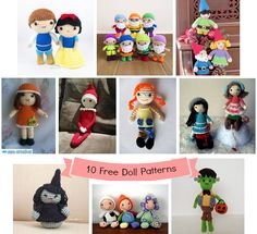 Free Pattern Friday - September (Doll Edition!)