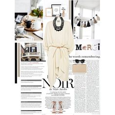 In the beginning have in mind the end by summermoon on Polyvore featuring polyvore fashion style Acne Studios Zimmermann BCBGMAXAZRIA Kate Spade The Row Arche Marc Jacobs