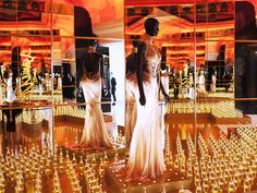 Dior Display at Harrods 2013