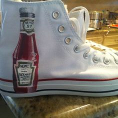 Ketchup shoe for THE ketchup lover.