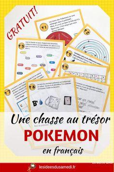 Pokemon Anniversary: Free Pokemon Treasure Hunt in PDF and other games . Pokemon Party, Pokemon Birthday, Pokemon Games, Pokemon Pokemon, Pikachu, Diy Pokemon Cards, Pokemon Dragon, Family Game Night, Boy Birthday