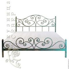 Wrought iron bed Azure Baroque – buy a bed or … – Decor İdeas Wrought Iron Beds, Wrought Iron Decor, Wrought Iron Fences, Steel Bed Design, Steel Bed Frame, Bed Frame Design, Iron Furniture, Iron Work, Metal Beds