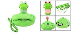 Fascinating Unique Green Frog Style Cartoon Phones