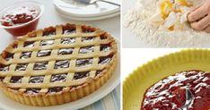 Συνταγή για πάστα φλόρα (πάστα φλώρα) με σπιτική ζύμη και μαρμελάδα φράουλα. Η καλύτερη συνταγή για σπιτική πάστα φλόρα (πάστα φλώρα) Waffles, Breakfast, Food, Kuchen, Morning Coffee, Essen, Waffle, Meals, Yemek