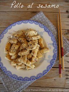 Ogni riccio un pasticcio - Blog di cucina: Pollo al sesamo