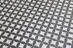 Bertie Black & White Feature Floor Tiles 33x33cm