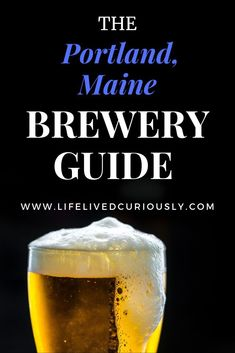 With over 32 breweries in a small urban area, of course Portland is a destination for beer lovers. Here are the best breweries in Portland, Maine! New England Fall, New England Travel, Lanai Island, Island Beach, Beach Photography Friends, Honey Moon, Where Is Bora Bora, Best Island Vacation, Fiji Travel