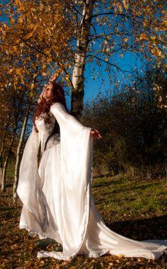 Autumnal fantasy - by Prior Attire  forest maiden, fantasy, medieval