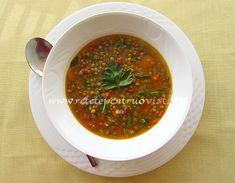 Ciorba de Linte ⋆ Retete Pentru O Viata Salsa, Food And Drink, Healthy Eating, Soup, Beef, Ethnic Recipes, Cavities, Drinks, Food