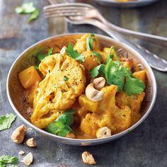 Indisches Kartoffel-Blumenkohl-Curry Rezepte | Weight Watchers