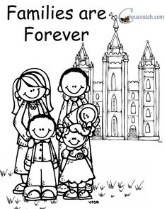 LDS PRIMARY SUNBEAM LESSON I Can Be Obedient Coloring Page