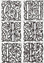 Les enluminures (le Moyen-Age)