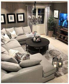 48 comfy apartment living room decor ideas 15 - Home Decor Small Apartment Living, Cozy Living Rooms, Home Living Room, Living Room Designs, Living Room Furniture, Living Room Decor, Small Living, Modern Living, Minimalist Living