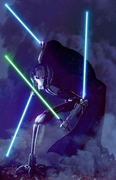 Star Wars Fan Art by Livio Ramondelli