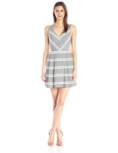Greylin Women s Mezzan Stripe Dress 191ee942fdf2