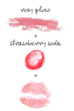Paula's Choice Rosy Glow Lipstick + Strawberry Soda Lip Gloss = Perfectly Kissable #paulaschoice